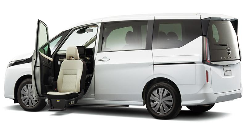 セレナ 助手席スライドアップシート X(2WD)